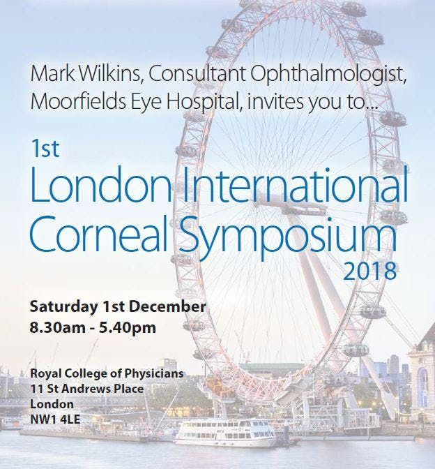 London International Corneal Symposium 2018