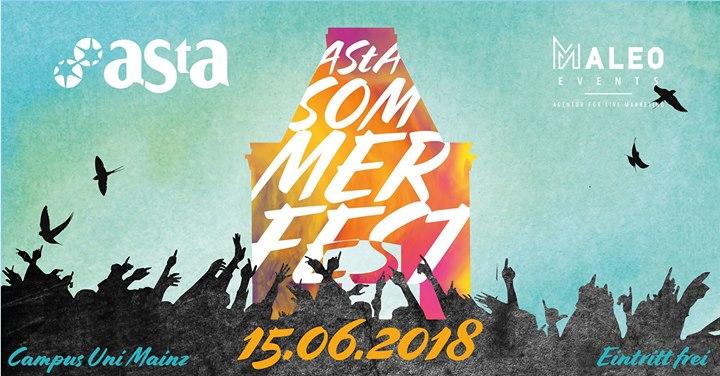 AStA Sommerfest 2018