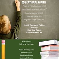 CC Progressives Educational Forum