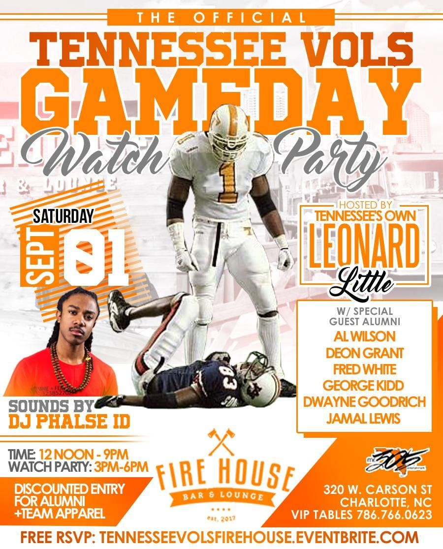 Tennessee Vols GameDay Watch Party