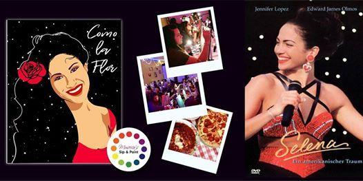 Museicas BYOB Dine & Paint Night - SELENA (Dinner & Movie included)