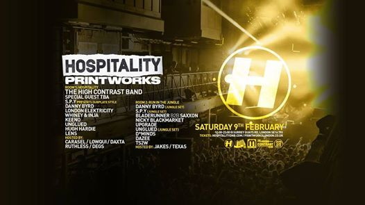Hospitality at Printworks London (Tickets now on sale)