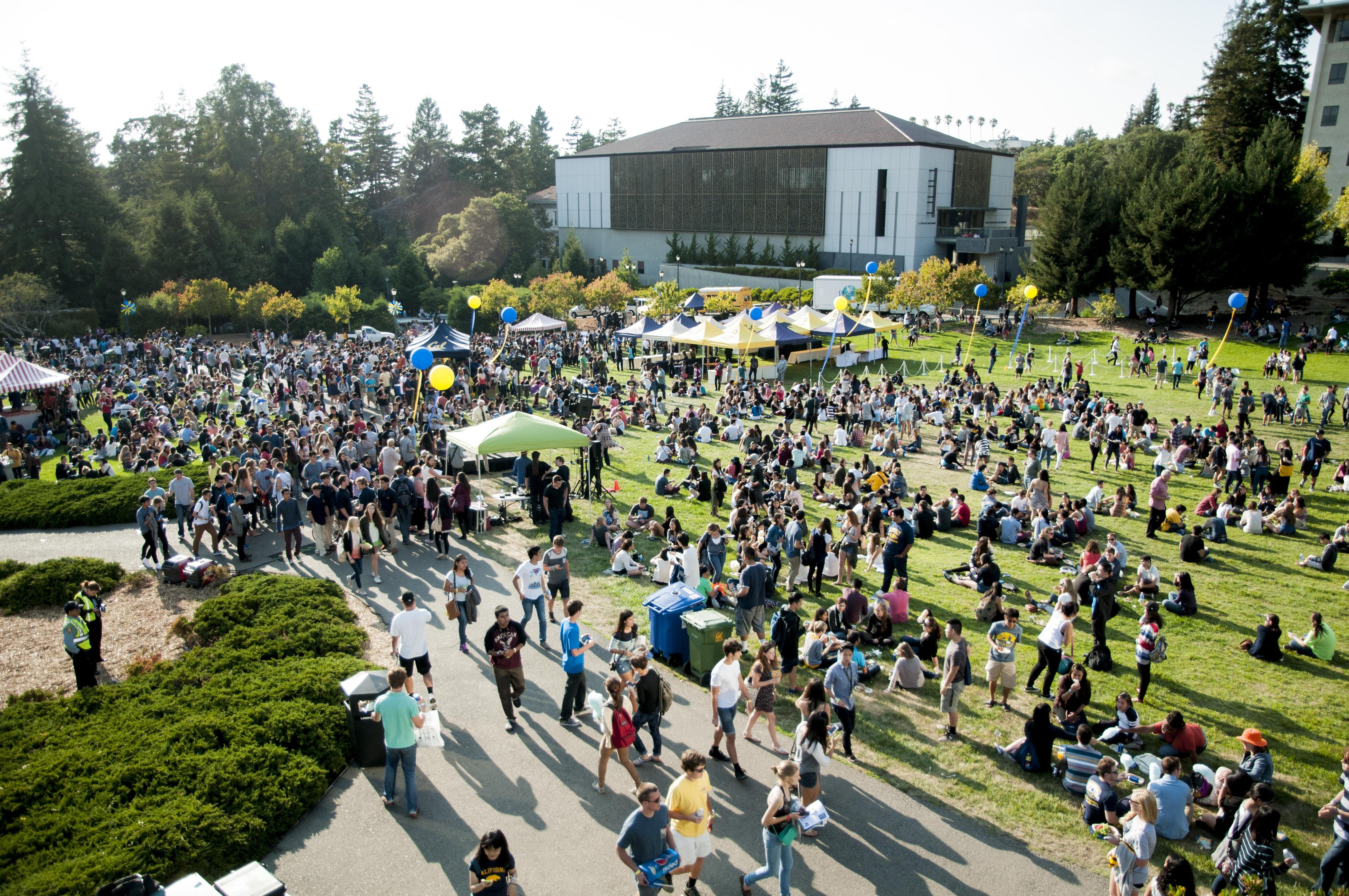 2018 Golden Bear Orientation Alumni-Student Mixer