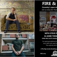 Fire and Dust MEETS Steve Pottinger and Jamie Thrasivoulou