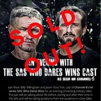An evening with the SAS Who Dares Wins cast