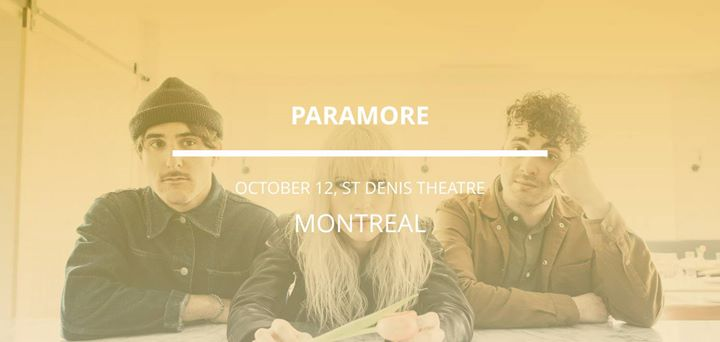 Paramore in Montreal