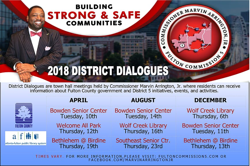 South Fulton Summer District Dialogues