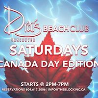 Canada Day Pool Party
