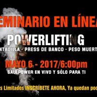 Seminario en Linea - Powerlifting