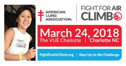 Charlotte Fight For Air Climb