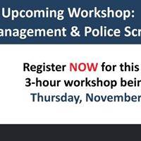 Volunteer MBC Workshop Risk Management &amp Police Screening