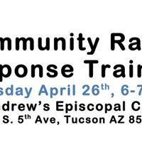Community Rapid Response Training