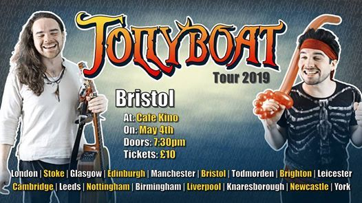 Jollyboat - Bristol (Bards Against Humanity Tour)