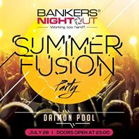 Summer Fusion Party by BankersNightOut