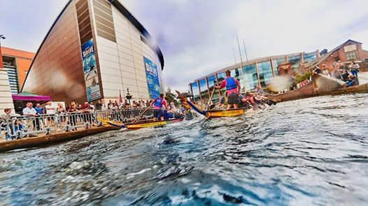 Brindleyplace Dragonboat Race