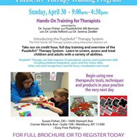 PuzzleArt Therapy 6 credit Hands-On Training
