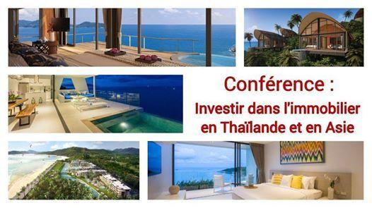 Confrence  investir dans limmobilier en Thalande