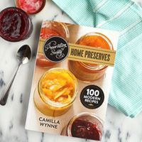Cookbook author at the Co-op Camilla Wynne Preservation Society