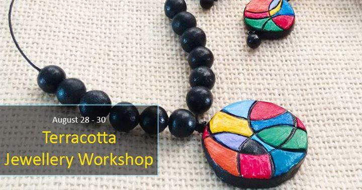 Terracotta Jewellery Workshop at pH Designs, Ahmedabad