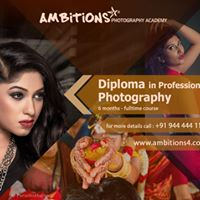 Diploma in Professional Photography - Fulltime courses