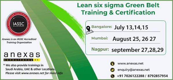 Six Sigma Green Belt Training & Certification