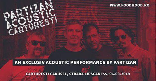 Partizan Acoustic  Carturesti