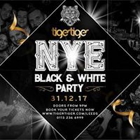 NYE Black &amp White Party