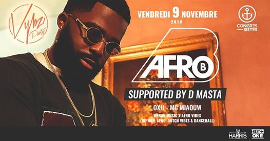 Vybz Party W AFRO B Bar Des Congressistes 091118