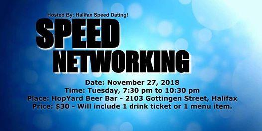 Speed dating nova scotia