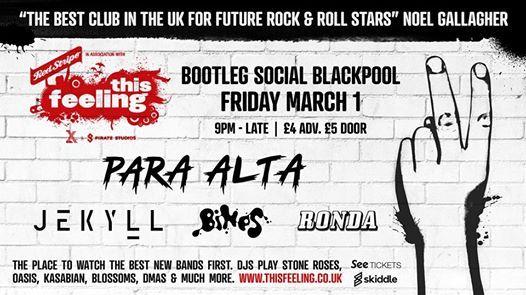 This Feeling - Blackpool w Para Alta Jekyll BINES & Ronda