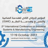 International Conference on Industrial Systems &amp Manufacturing