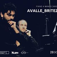 Avalle_Brtez. Piano 4 manos  20 Dic. Sinestesia - Barcelona