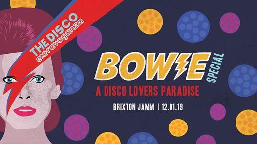The Disco Extravaganza - Bowie Special - Brixton
