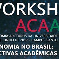I Workshop de Astronomia Arcturus