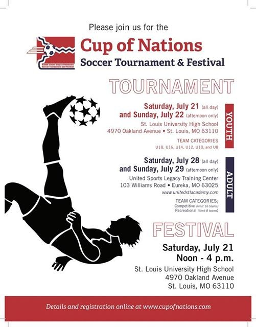 Cup of Nations Youth Tournament at St  Louis University High