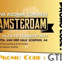 Viva Kizomba Congress Amsterdam 10th-15th AUG 17