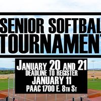 New Senior Softball Tournament