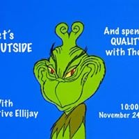 Opt Outside Hike with Stay Active Ellijay and The Grinch