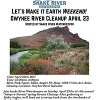 Owyhee River Cleanup