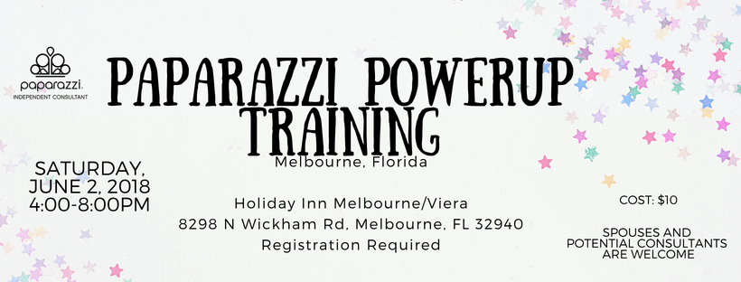Melbourne Florida Paparazzi PowerUp Training