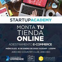 Taller E-commerce Monta tu tienda Online  Arecibo
