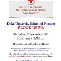 DUSON Blood Drive