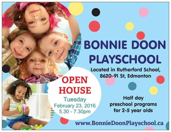 bonny doon preschool bonnie doon playschool open house 609