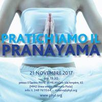 Pranayama serata di pratica