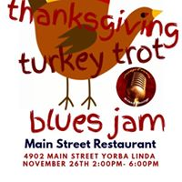 Thanksgiving Turkey Trot Blues Jam
