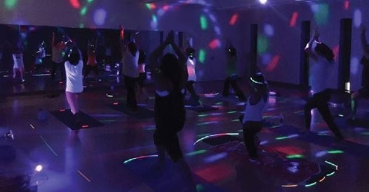 Summer Glow Yoga Party