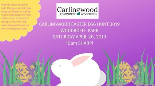 Carlingwood Easter Egg Hunt 2019
