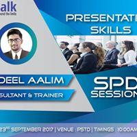 Presentation Skills - Students Professional Development Session