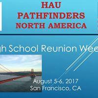 HAU Pathfinders USA 35 Year Anniversary HS Reunion Weekend