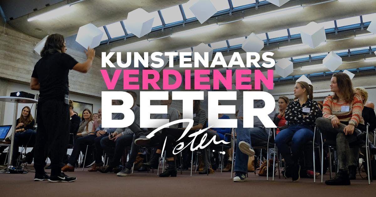 Kunstenaars Verdienen Beter zaterdag 19 januari 2019